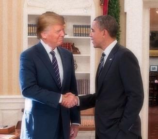 Trump grabbing a pussy