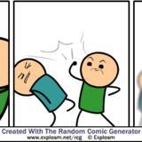 <b>Cyanide</b> & <b>Happiness</b> Comic Generator Comp