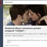 Gender swap vampires.