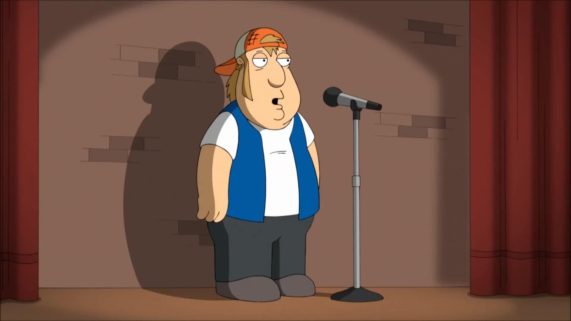 H. Jon Benjamin. Source is Family Guy S14E03 - Guy Robot.