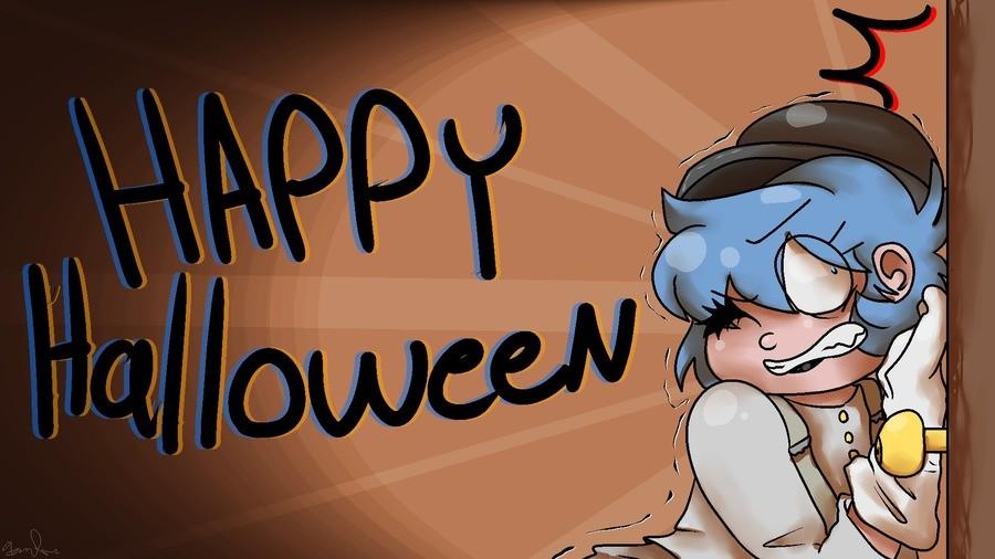 Happy almost Halloween + a cover. www.youtube.com/watch?v=RzBtKX4OgFk. Music cover SpookyScarySkele